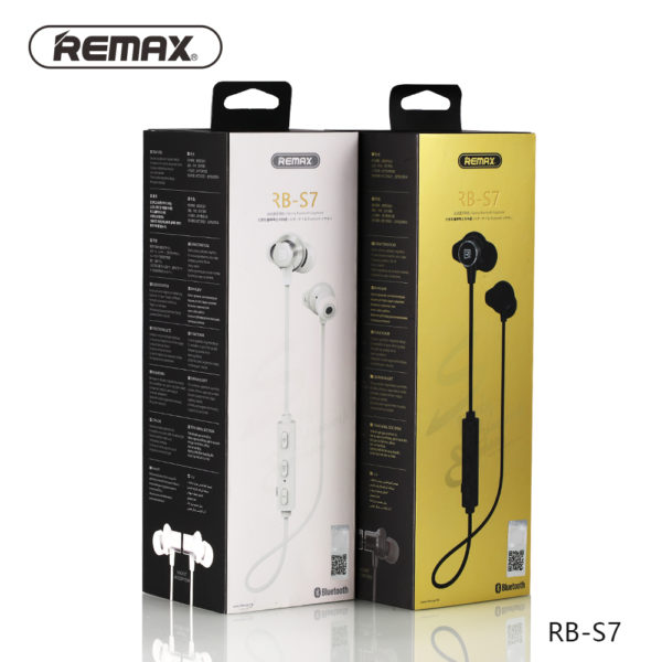 Remax RB-S7 Sporty Bluetooth Magnetic Earphones