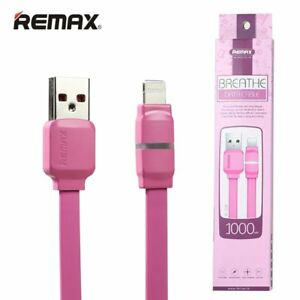 Breathe Lightning Cable with LED indicator RC-029i -- Charging & Data Cable