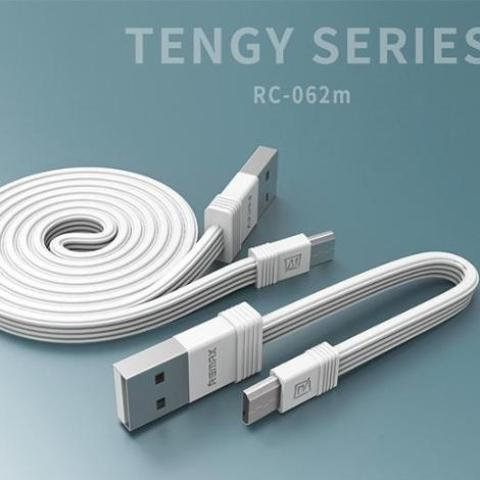 Tengy Series 2 Pack Lightning Data Cable (1M & 16cm) RC-062m -- Charging & Data Cable