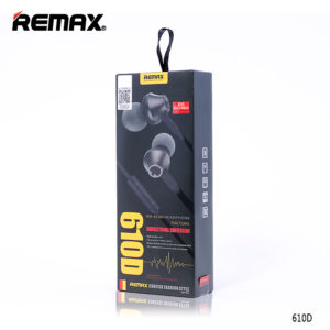 EARPHONE WITH MIC VOLUME CONTROL RM 610D